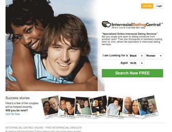 interracialdatingcentral.com screenshot