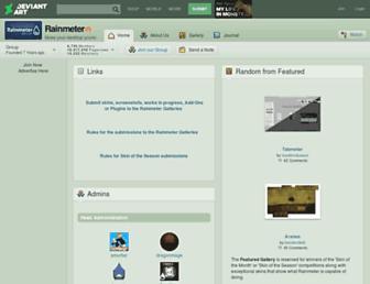 rainmeter.deviantart.com screenshot