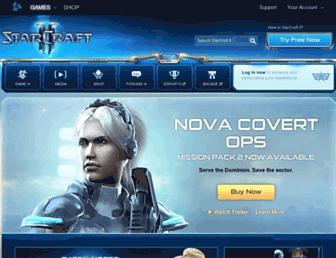 starcraft.com screenshot
