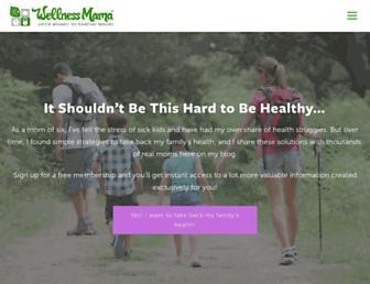 Thumbshot of Wellnessmama.com