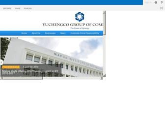 ygc.com screenshot