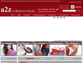 a2z-wolkakosowska.pl screenshot