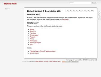 wiki.mcneel.com screenshot