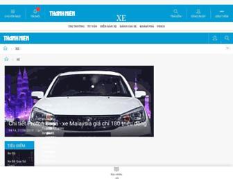 xe.thanhnien.vn screenshot