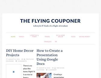 Thumbshot of Theflyingcouponer.com