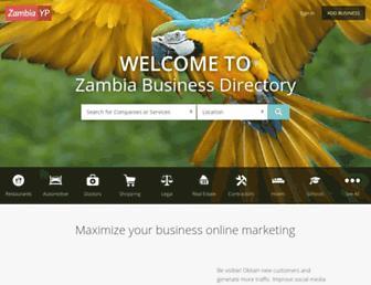 zambiayp.com screenshot