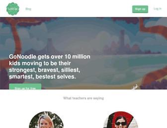 Thumbshot of Gonoodle.com