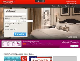Thumbshot of Hotels.com