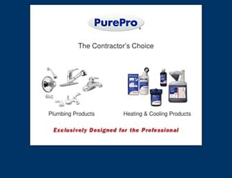 pureproproducts.com screenshot