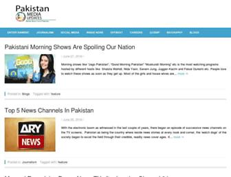 Thumbshot of Pakistanmediaupdates.com