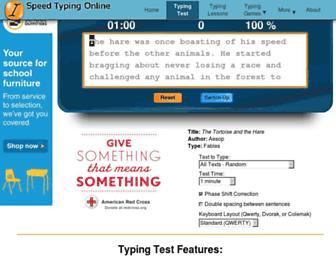 Thumbshot of Speedtypingonline.com
