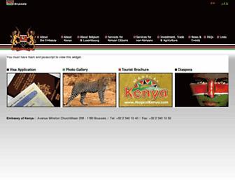 kenyabrussels.com screenshot