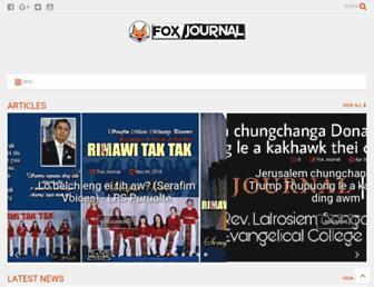 foxjournal.in screenshot