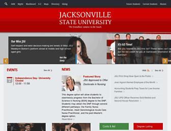 jsu.edu screenshot