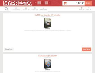 Thumbshot of Mypresta.eu