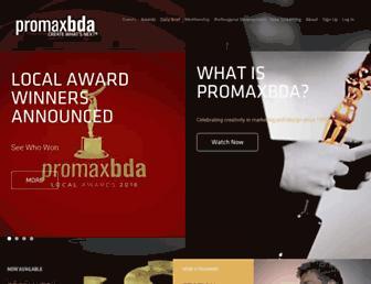 promaxbda.org screenshot