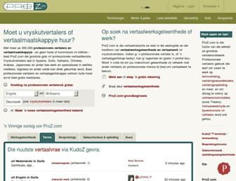 afr.proz.com screenshot