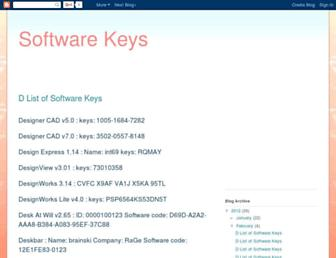 software-keys-mannu.blogspot.com screenshot