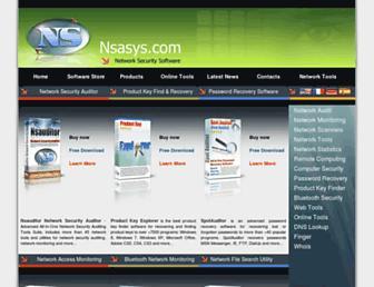 nsasys.com screenshot