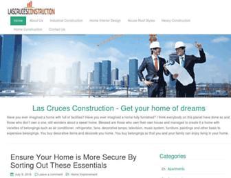 Thumbshot of Lascrucesconstruction.com