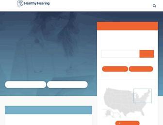 healthyhearing.com screenshot