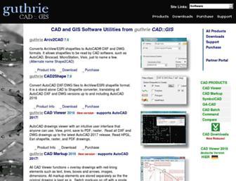 guthcad.com.au screenshot