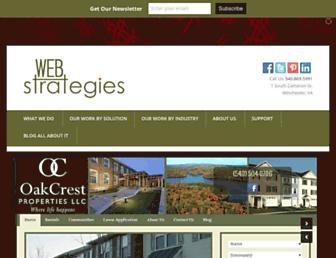 webstrategies.com screenshot