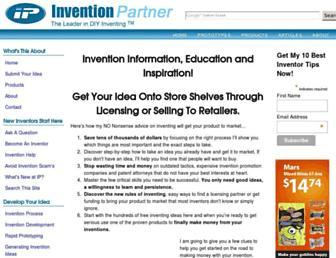 inventionpartner.com screenshot