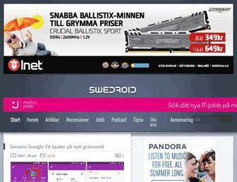 swedroid.se screenshot