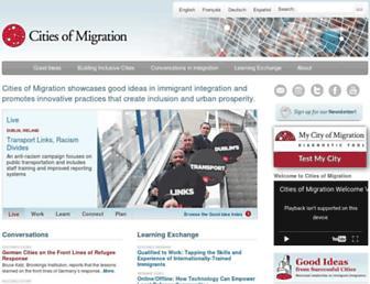 citiesofmigration.ca screenshot