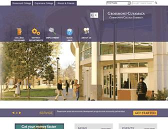 gcccd.edu screenshot