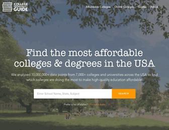 collegeaffordabilityguide.org screenshot