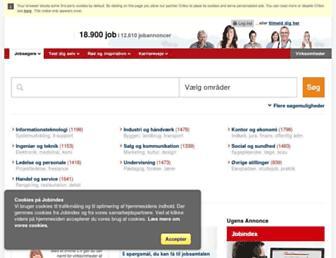 jobindex.dk screenshot