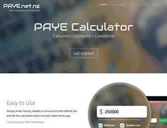 paye.net.nz screenshot