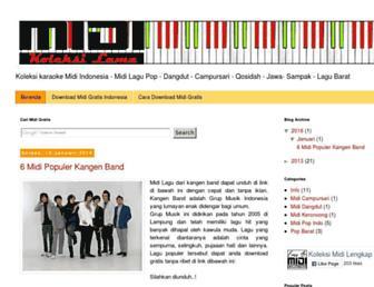 koleksikaraokemidi.blogspot.com screenshot