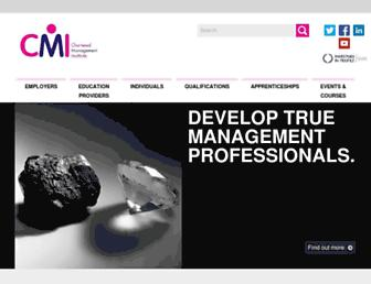 managers.org.uk screenshot