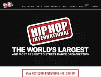 hiphopinternational.com screenshot