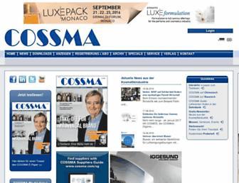cossma.com screenshot