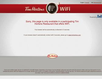 Thumbshot of Timhortonswifi.com