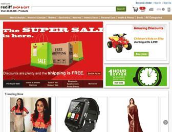 mshop.rediff.com screenshot