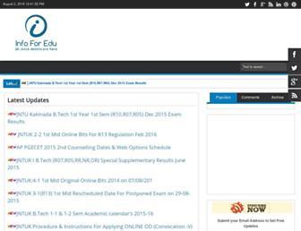 infoforedu.blogspot.com screenshot