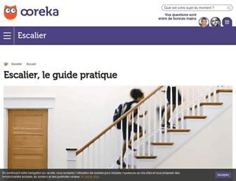 escalier.comprendrechoisir.com screenshot