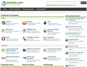 es.weeebs.com screenshot