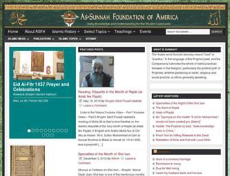 Thumbshot of Sunnah.org