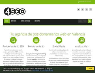 4seo.es screenshot