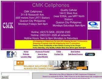 Thumbshot of Cmkcellphones.com