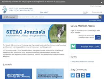 setac.onlinelibrary.wiley.com screenshot