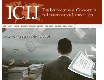 Thumbshot of Icij.org