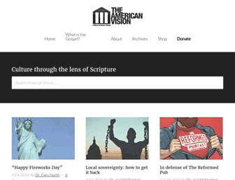 Thumbshot of Americanvision.org