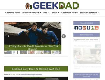 geekdad.com screenshot